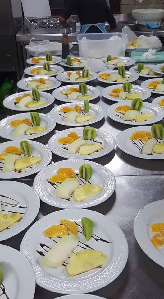 Frutta e dessert al Relais